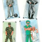 Adult Halloween Costume Sewing Pattern Large Spaceman Prisoner Nurse Soldier Doctor  8890