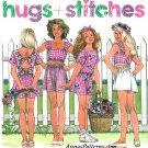 Girls Summer Shorts Tops Sewing Pattern 12-14 Easy Elastic Waist Crop Top 7774