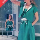 80s Sundress Sewing Pattern 14-18 Jacket Dress Easy Spring Summer 3805