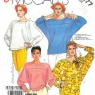 Kimono Sleeve Top Sewing Pattern 18 20 Tunic 80s Pullover Disco Easy 2877 Vintage