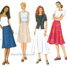 Gore Skirt Sewing Pattern Easy 14 16 18 Plus A-line Flared 3134