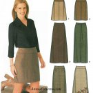 Slim A-line Skirt Sewing Pattern Plus 14-20 Easy 3 Lengths 9825