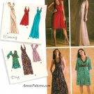 Plunge Neckline Formal Dress Sewing Pattern 6-14 Maxi Boho Evening Halter Prom 3503