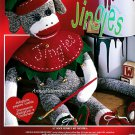 Christmas Sock Monkey Kit Jingles Holiday Elf Toy Gift Rockford Red Hill 21 Inch Janlynn