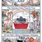 Noah's Ark And The Animals Cross Stitch Kit 11 x 14 Bible Nursery 18 Ct Aida