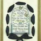 Bucilla Memory Mats Wedding Sampler Cross Stitch Kit Marriage Aida