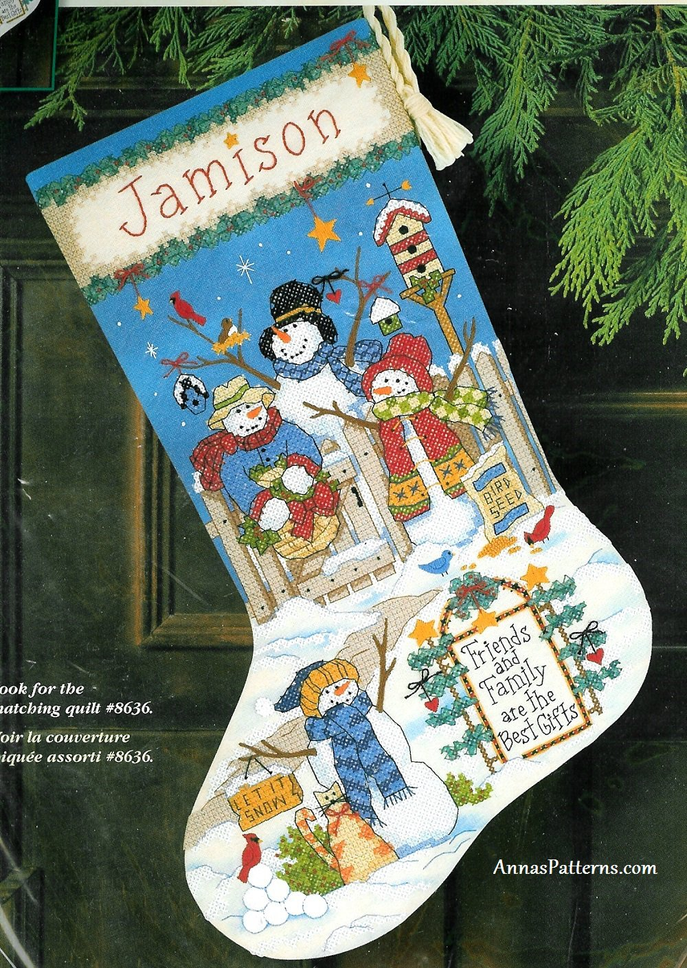 dimension christmas stocking kit stamped cross stitch best