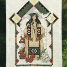 Native Indian Natures Angel Cross Stitch Kit Wall Hanging Blanket 12 x 20