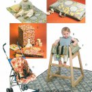 Baby Infant Play Mat Highchair Changing Pad Bib Sewing Pattern Diaper Stacker 5604