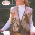 Cat Vest Sewing Pattern Applique Quilt S-XL Kitty Pet Animal Design 5289