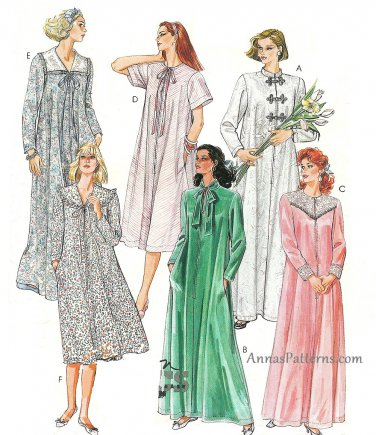 Caftan Sewing Pattern 14/16 Zipper Robe Kimono Lounger Hollywood Regency Easy 3969