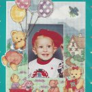 Buttercup Lane Cross Stitch Photo Frame Kit Bear Balloons Child Easy Baby Hugs