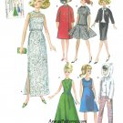 Barbie Doll Clothes Sewing Pattern 1950s Reprint Gown Coat Dress Skirt Pants 1242