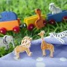 Safari Jungle Circus Animal Fondant Cookie Cutters Plungers Stamp Stencil Press Mold - Box Set