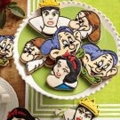 Snow White and the Seven Dwarves Fondant Cookie Cutter Plunger Stencil Mold Press Stamp