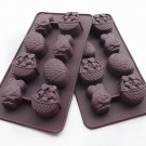 Easter Rabbit Egg Basket Chocolate Candy Jelly Ice Soap Candle Mold Pan Tray