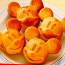 Silicone Mickey Mouse Muffin Cake Pan Mold Tray