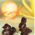 Silicone Easter Rabbit Duck Egg Chocolate Candy Jelly Ice Soap Candle Mold Pan Tray