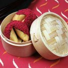 "5"" Inch Bamboo Steamer - 2 Tiers"