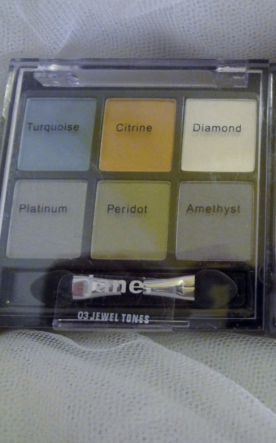 Jane Eye Zing Eyeshadow palette 6 shades