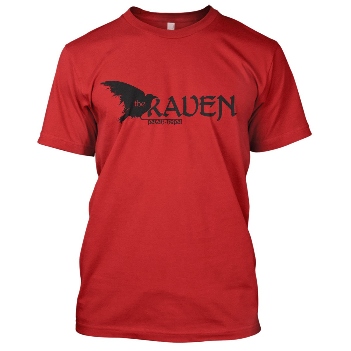 Indiana Jones: The Raven Mens Movie T-Shirt Large Red