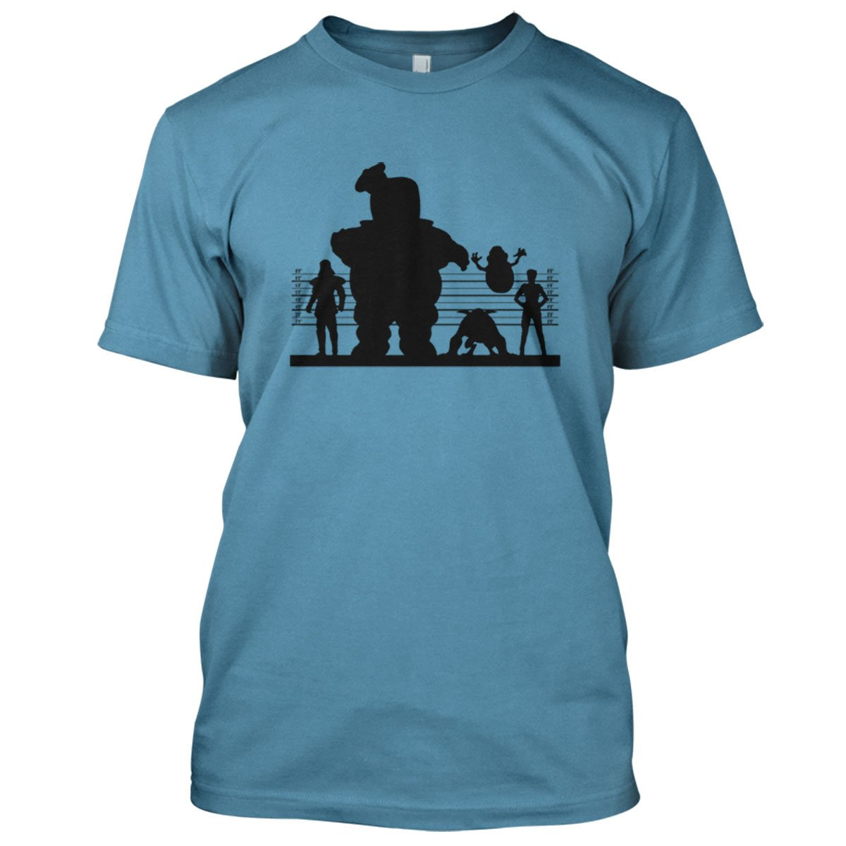 Ghostbuster Suspects Mens Movie T-Shirt Large Sky
