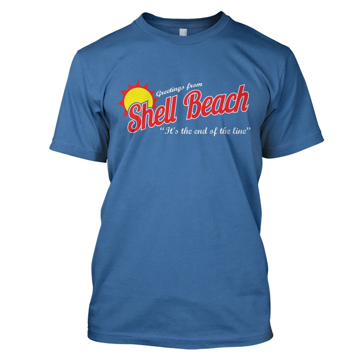 Dark City: Shell Beach Mens Movie T-Shirt Large Iris