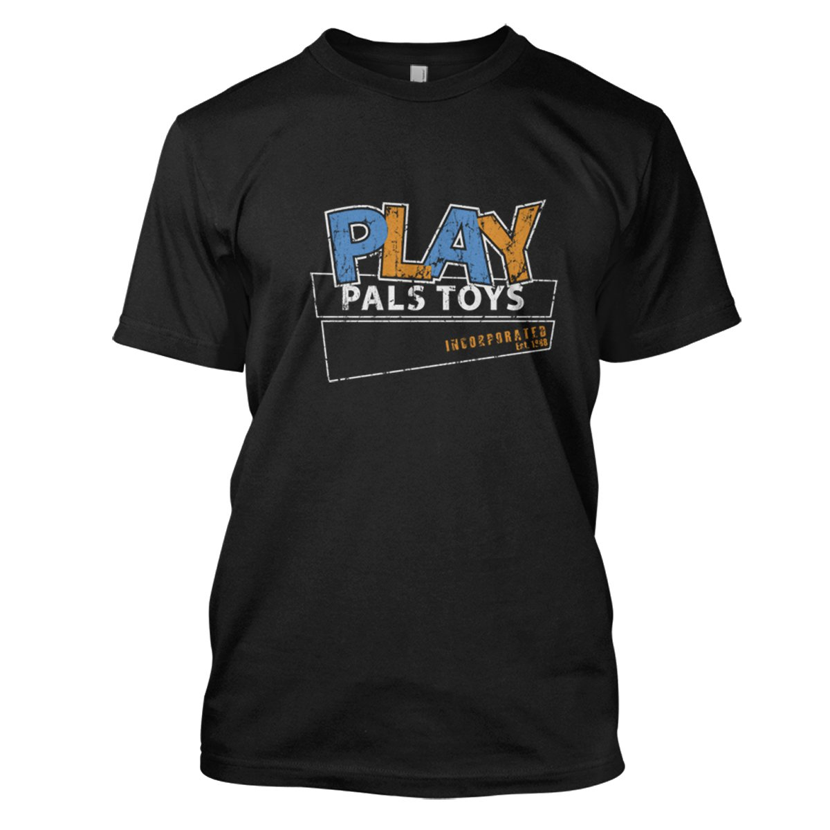 Childs Play: Play Pals Toys Mens Movie T-Shirt Large Black