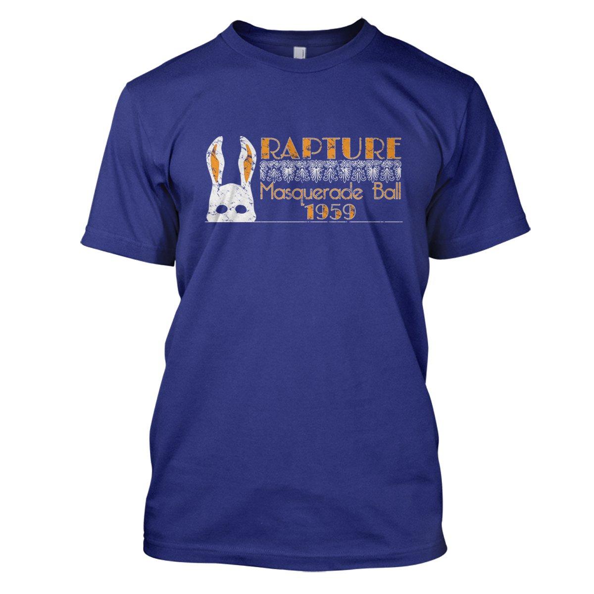 Bioshock: Rapture Ball Mens Movie T-Shirt Large Royal