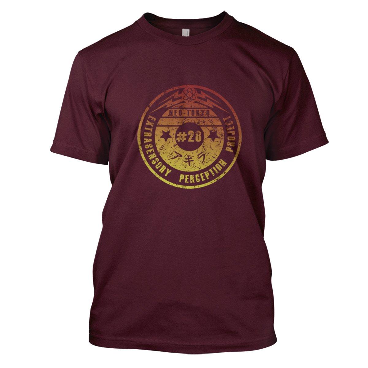 Akira: Esp Mens Movie T-Shirt Large Maroon
