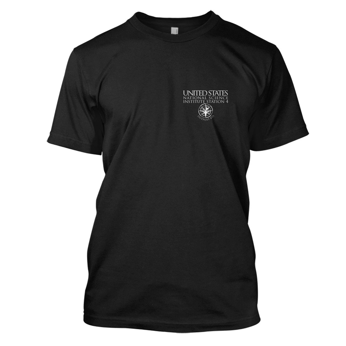 The Thing: Outpost 33 Mens Movie T-Shirt Medium Black