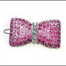 Swarovski Crystal Ribbon Hair Pin