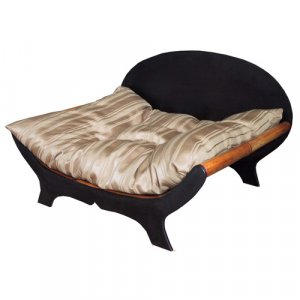 King's Bed w/Cushion Bamboo Bed