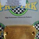 1999-2000 Honda CBR600F4 Gold Front Brake Fluid Reservoir Cap CBR-600 F4 Pro-tek RC-700G