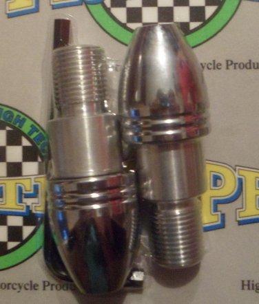 2009-2015 Yamaha FZ6R Chrome Bar Ends FZ-6R Pro-tek BE-55BC Bar Ends