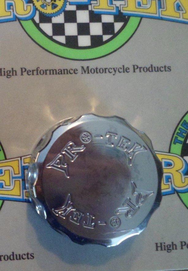 2004-2008 Yamaha YZF R1 Chrome Rear Brake Fluid Reservoir Cap YZF-R1 Pro-tek RC-250C