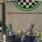 1998-2015 Yamaha YZF R1 Chrome Bar Ends YZF-R1 Pro-tek BE-50BC