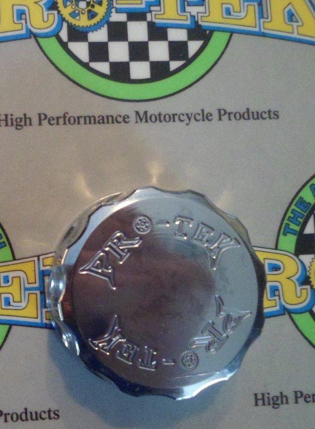 2011-2013 Yamaha FZ8 Chrome Rear Brake Fluid Reservoir Cap FZ-8 Pro-tek RC-250C