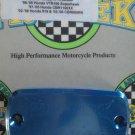1999-2006 Honda CBR600F4 Blue Front Brake Fluid Reservoir Cap CBR-600 F4 Pro-tek RC-700B