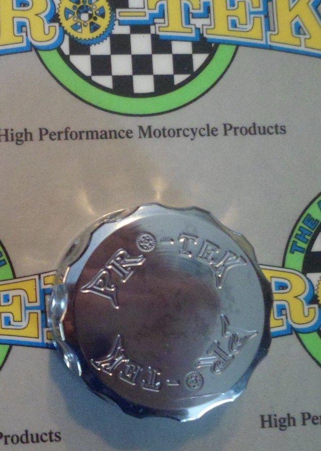 2009-2013 Yamaha FZ6R Chrome Rear Brake Fluid Reservoir Cap FZ-6R Pro-tek RC-250C