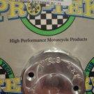 2000-2006 Honda RVT-1000R RC51 Silver Front Brake Fluid Reservoir Cap Pro-tek RC-200S