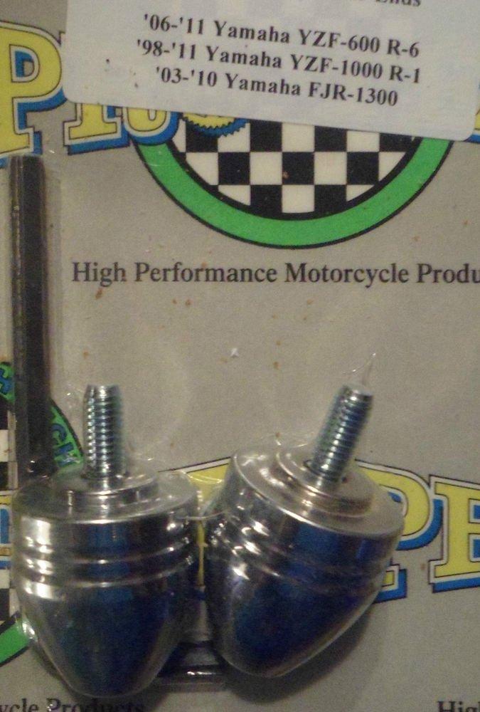 2003-2013 Yamaha FJR1300 Chrome Bar Ends FJR-1300 Pro-tek BE-20BC