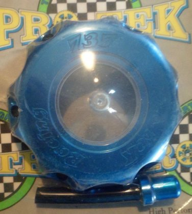 Honda CR-250R Blue Gas Cap 2000 2001 2002 2003 2004 2005 2006 2007 CR250R Pro-tek 737B