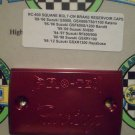 1993-1998 Suzuki GSXR1100W Red Front Brake or Clutch Fluid Reservoir Cap GSXR-1100W Pro-tek RC-600R