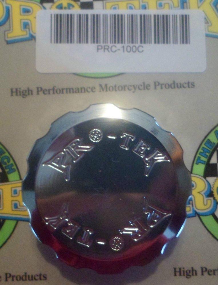2006-2015 Honda CBR600RR Chrome Front Brake Fluid Reservoir Cap CBR-600RR Pro-tek RC-100C