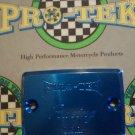 1994-2009 Kawasaki Ninja 500 R Blue Front Brake Fluid Reservoir Cap EX500 EX500R Pro-tek RC-550B