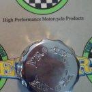 2004-2005 Yamaha FJR1300 Chrome Rear Brake Fluid Reservoir Cap FJR-1300 Pro-tek RC-250C