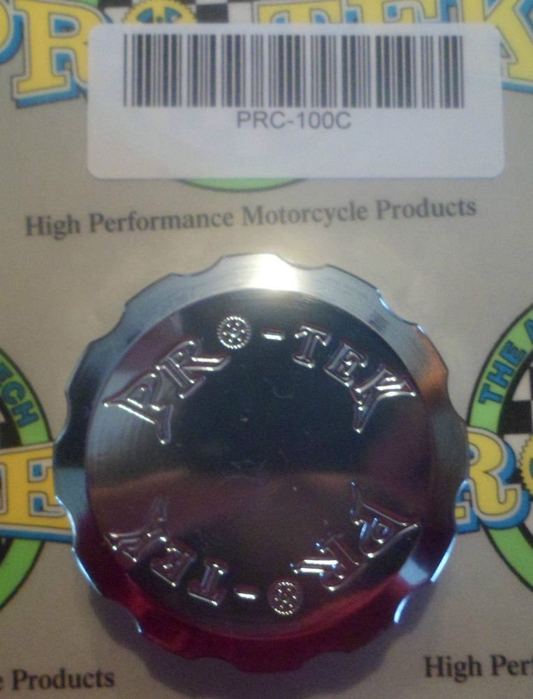 1993-1999 Honda CBR900RR Chrome Rear Brake Fluid Reservoir Cap CBR-900RR Pro-tek RC-100C