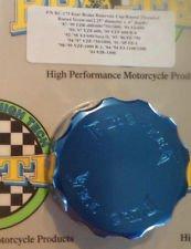 1987-1999 Yamaha FZR400 FZR600 FZR750 Blue Rear Brake Fluid Reservoir Cap Pro-tek RC-175B
