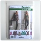 Simplicity Pattern 3956 Size 12 - 20 6 Made Easy Misses Tops